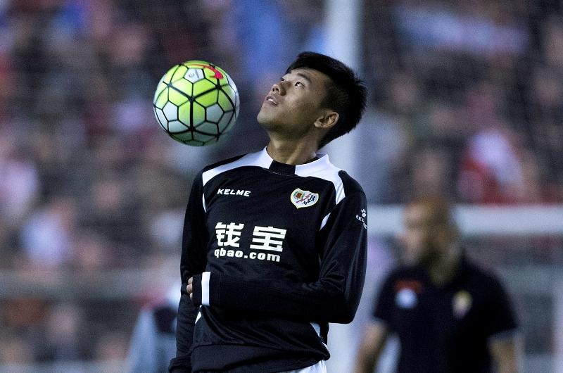 Zhang Chengdong, el primer futbolista chino en España