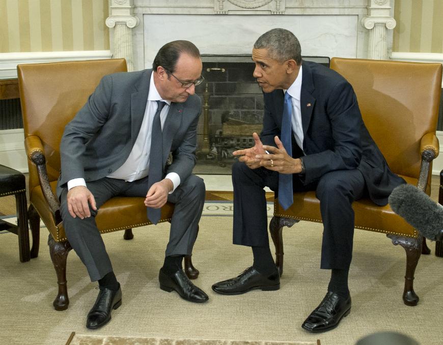 President Barack Obama and President François Hollande