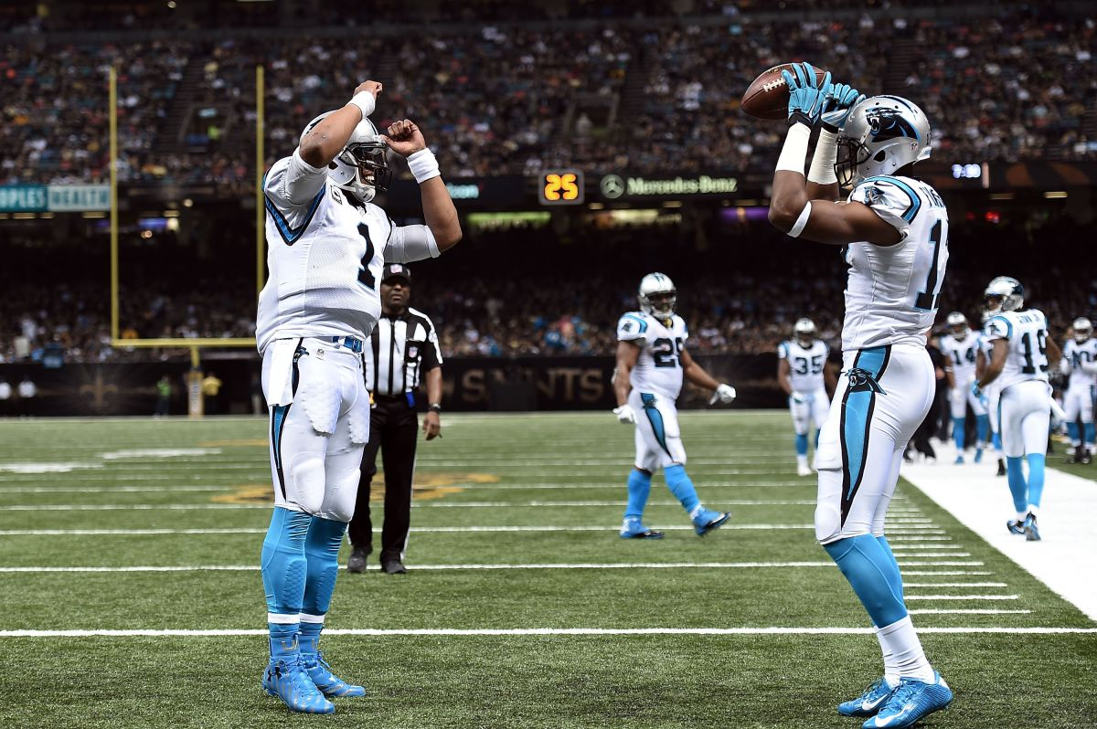 Cam Newton y los Panthers se niegan a perder lo invicto: vencen a Saints en festín de touchdowns