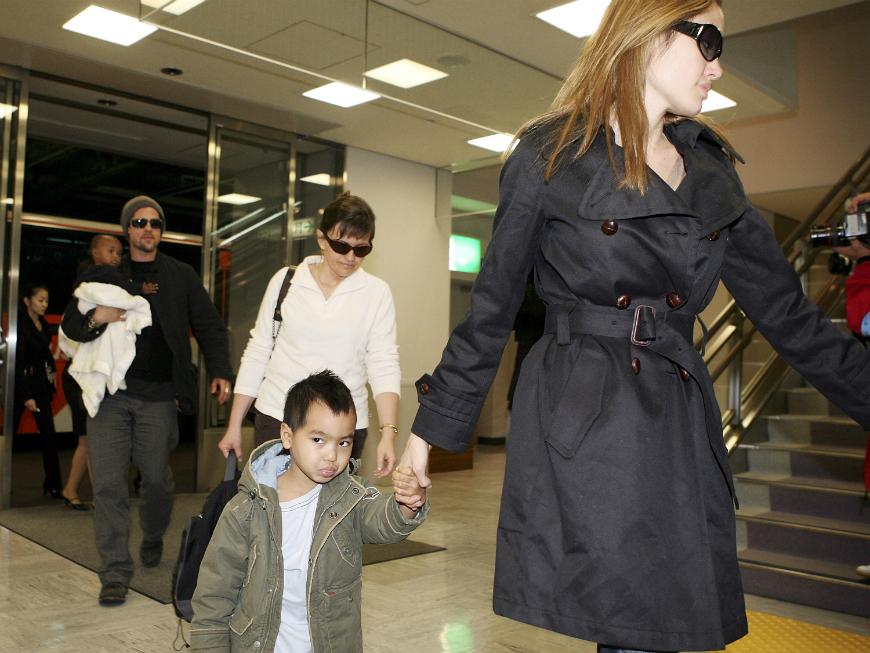 Los hijos de Jolie y Pitt están acostumbrados a visitar diferentes países ya que desde pequeños han acompañado a sus padres en todos sus viajes.