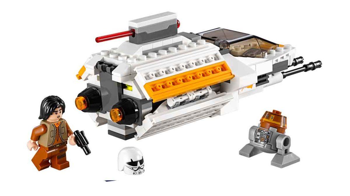Los juguetes de lego inspirados en 'Star Wars' fueron los terceros más vendidos durante el pasado 'Black Friday'.