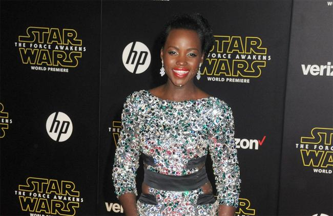 Lupita Nyong'o y sus looks para las red carpets de Star Wars (FOTOS)