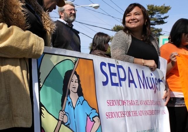 Marta Maffei, directora de SEPA Mujer, dijo que el acoso sexual es un problema persistente en Long Island.