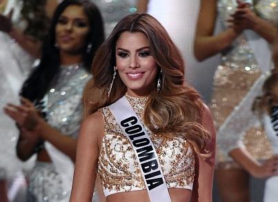 Miss Colombia Ariadna Gutiérrez terminó siendo la primera finalista de Miss Universo 2015.