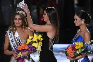 Colombiana,  Miss Universo por 156 segundos