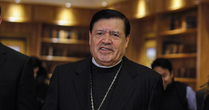 El Cardenal Norberto Rivera Carrera