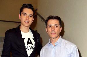 Sergio Mayer se reconcilia con su hijo a casi un año de distanciamiento