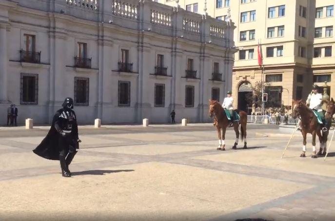 La Star Wars-manía toma el Palacio de La Moneda