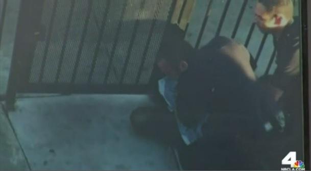 Imágenes captadas por testigos muestran el momento del arresto.