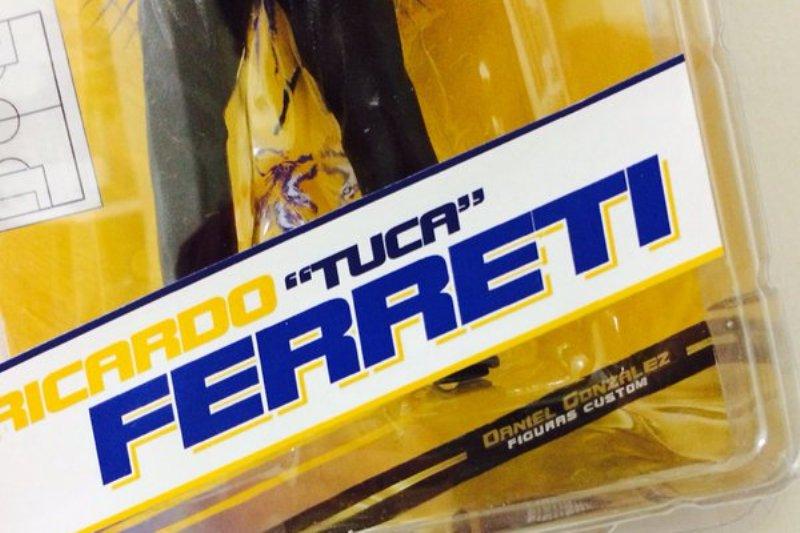 El 'Tuca' Ferretti ya es un 'muñeco de acción'