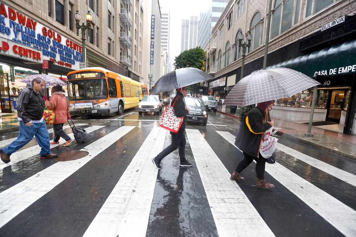 El Niño trae fuertes tormentas al sur de California