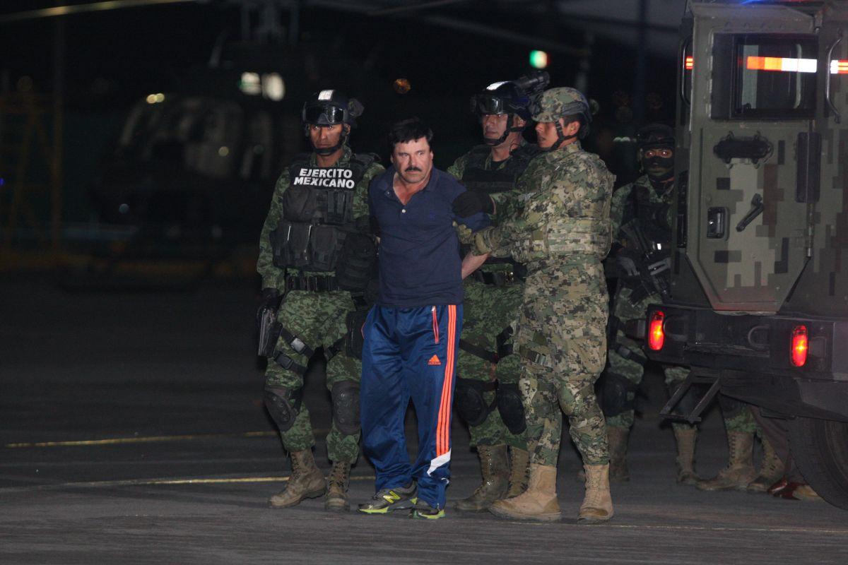 """EPN: Trabajamos aceleradamente para extraditar a """"El Chapo"""""""