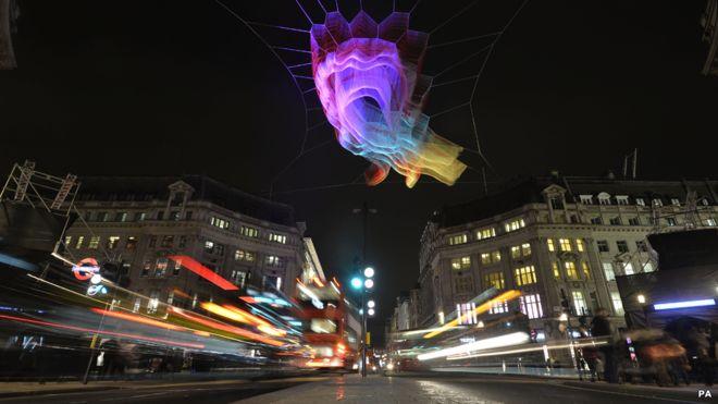 FOTOS: El espectacular festival de luces que transformó Londres