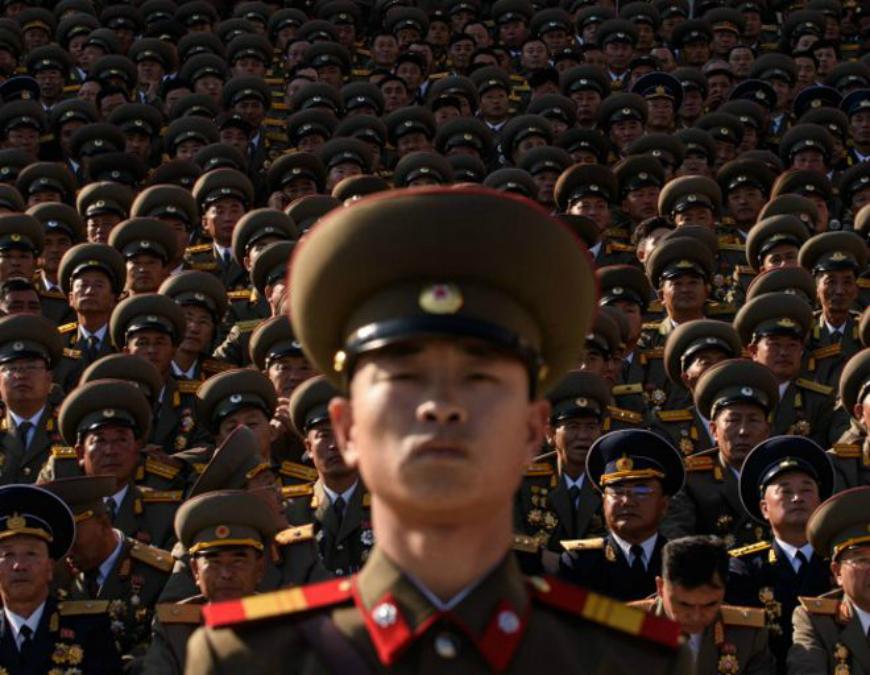 """Corea del Norte señaló que arrestó a un ciudadano de EE.UU. por """"actos hostiles"""" contra su país."""