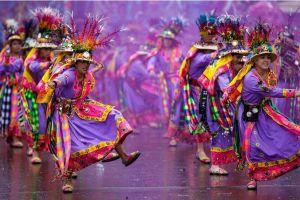 FOTOS: Los impresionantes colores del carnaval de Oruro en Bolivia