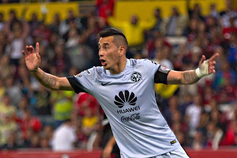 Rubens Óscar Sambueza, argentino naturalizado mexicano que juega para el América.