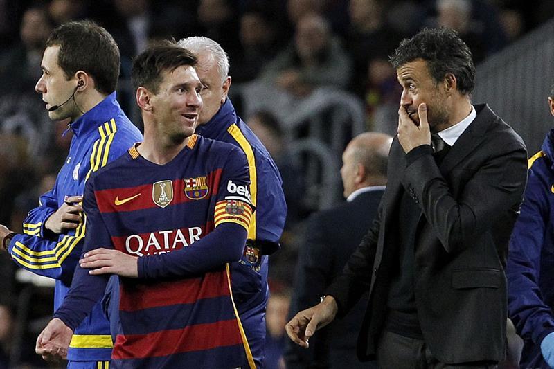 Luis Enrique el mejor del banquillo en 2015; Messi el 'mejor cerebro'