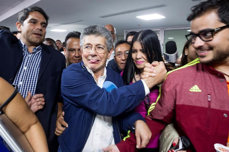Henry Ramos Allup es un político venezolano experimentado.