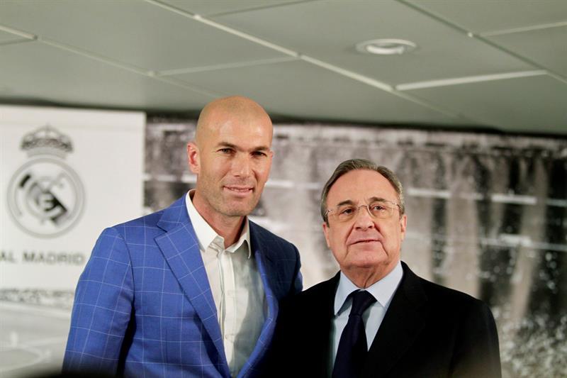 """Zidane al rescate del Madrid: """"Siento más emoción que cuando firmé como jugador"""""""