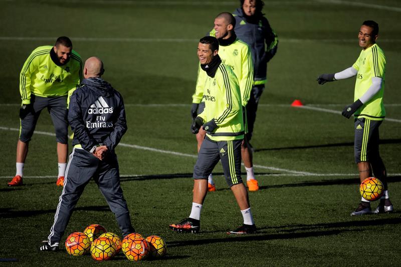 """Zidane: """"Tengo al mejor del mundo, que es Cristiano"""""""