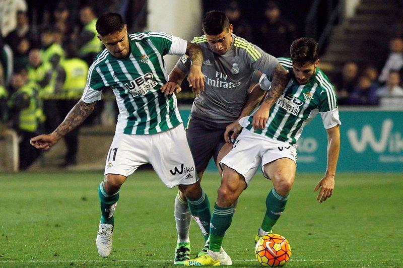 Golazo tempranero del Betis hizo sufrir al Real Madrid