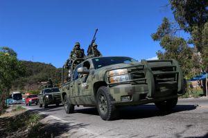 """Ejército mexicano asegura """"camión monstruo"""" del Cártel de Jalisco Nueva Generación"""