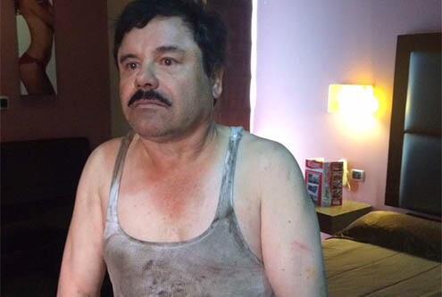 """El """"Chapo"""" Guzmán."""