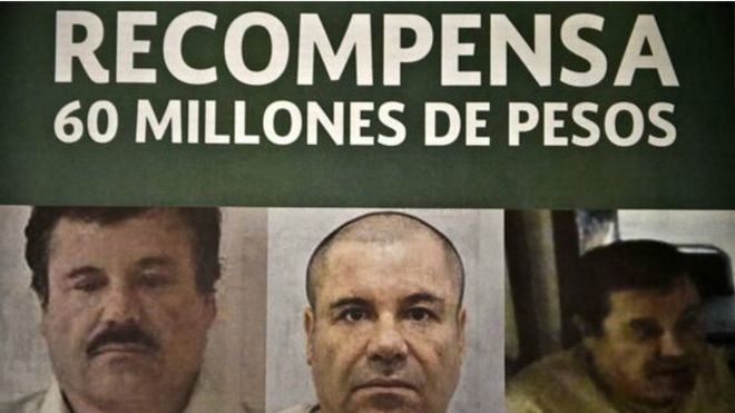 """""""El Chapo"""" era el hombre más buscado del mundo."""