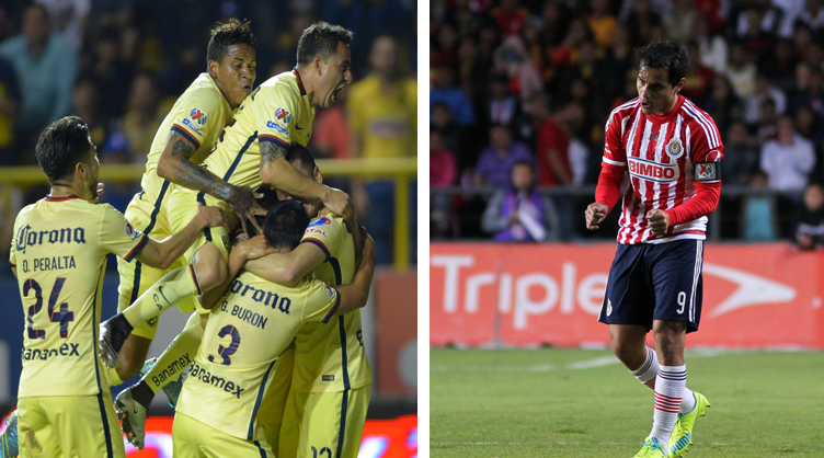 América golea a Dorados y Chivas cae en su vista al Morelia