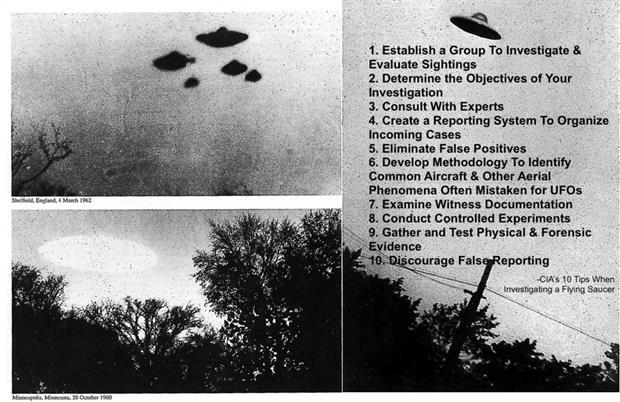 "La CIA desclasifica 10 documentos secretos a la vuelta de ""The X Files"""