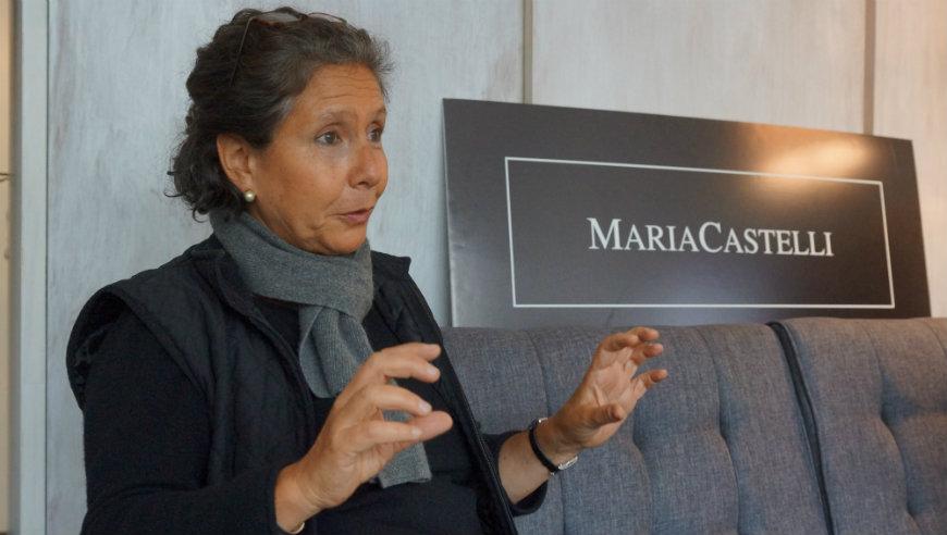 Cecilia Zanetta, creadora de Carteras Maria Castelli./Gerardo Romo