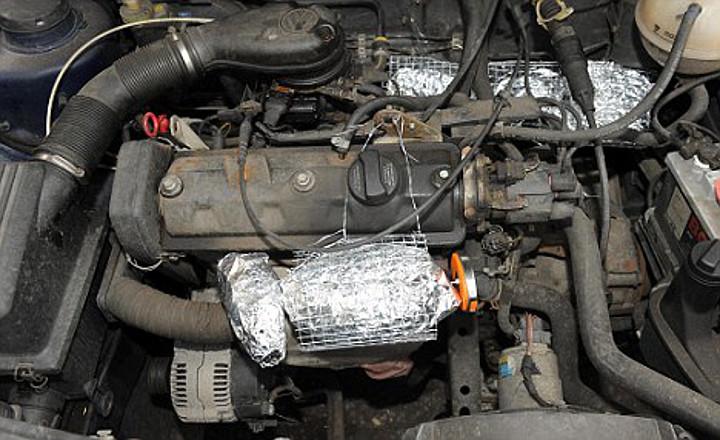 Una cocina en el motor de tu auto