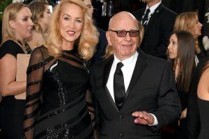 ¡Se casan! Rupert Murdoch y Jerry Hall anuncian su compromiso