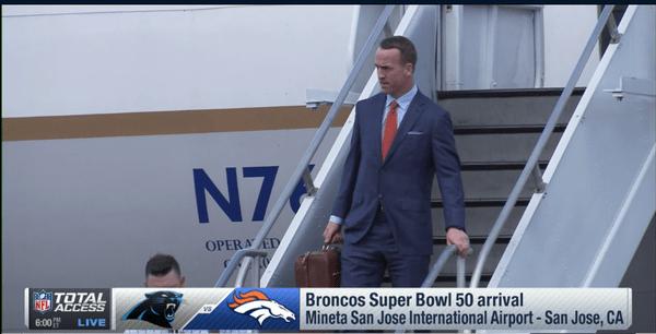 La semana del Super Bowl ha dado inicio: Broncos y Panthers ya están en California