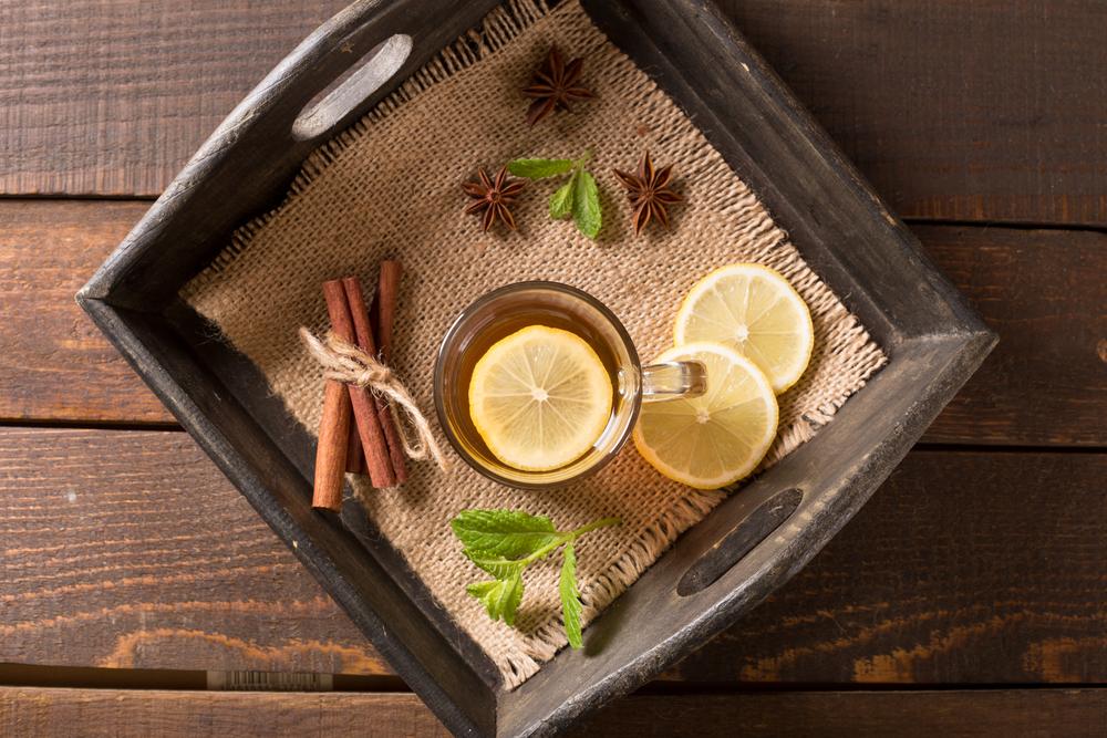 La infusión de canela y limón es un extraordinario hidratante natural.