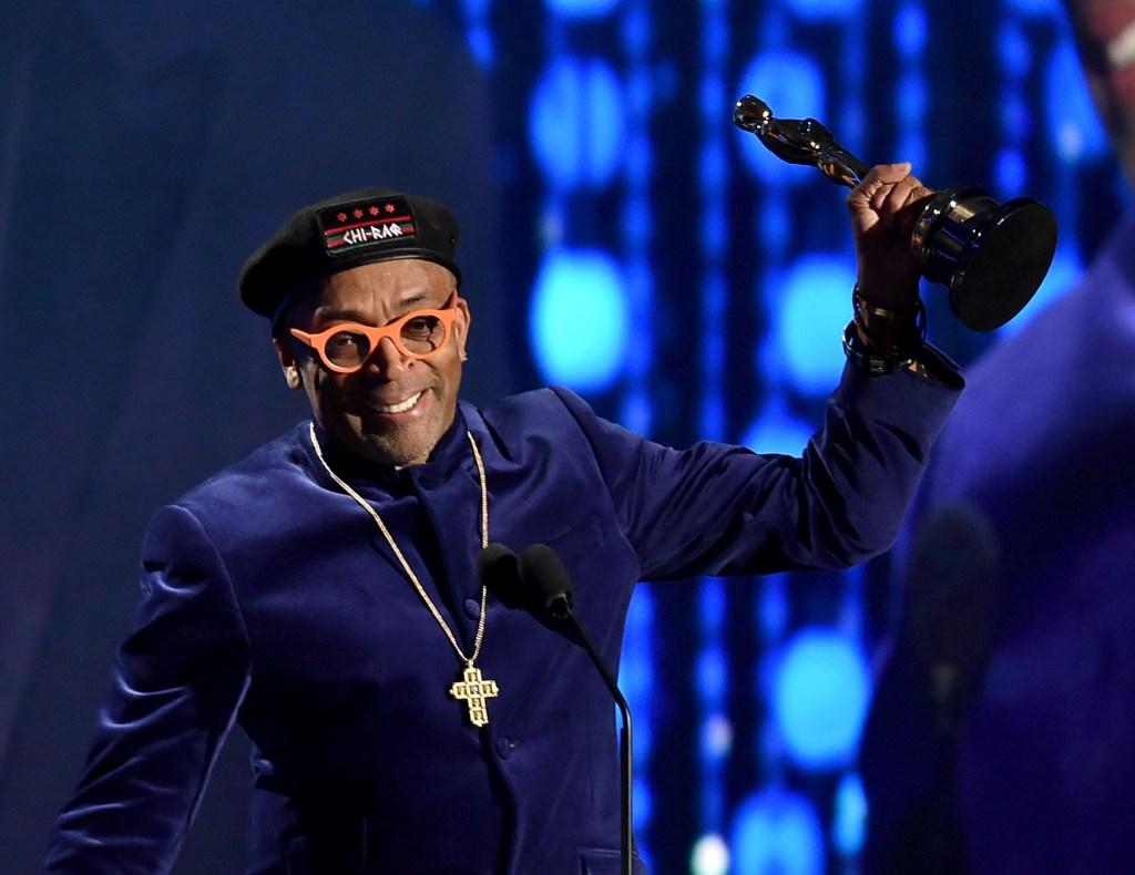 Spike Lee, el pasado noviembre, tras recibir el Oscar honorífico por su carrera.