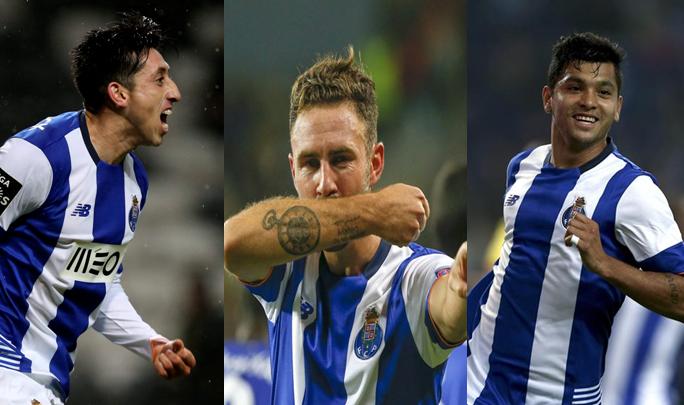 Herrera, Layún y Corona mantienen su buen paso en el fútbol portugués.