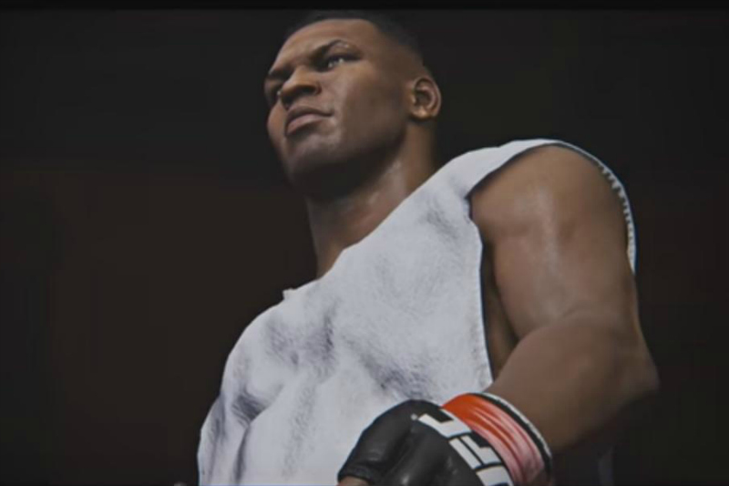 """La figura del gran Mike Tyson apareció en el último videojuego """"Fight Nigh Champión""""."""
