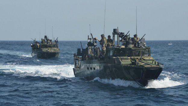 El mar Meridional de China resulta vital para el despliegue de las fuerzas militares estadounidenses en el Pacífico y en Medio Oriente. (Suministrada/Pentágono)