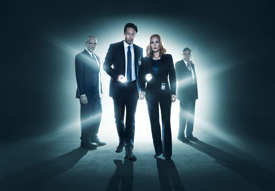 David Duchovny y Gillian Anderson reabren los 'X Files' esta noche