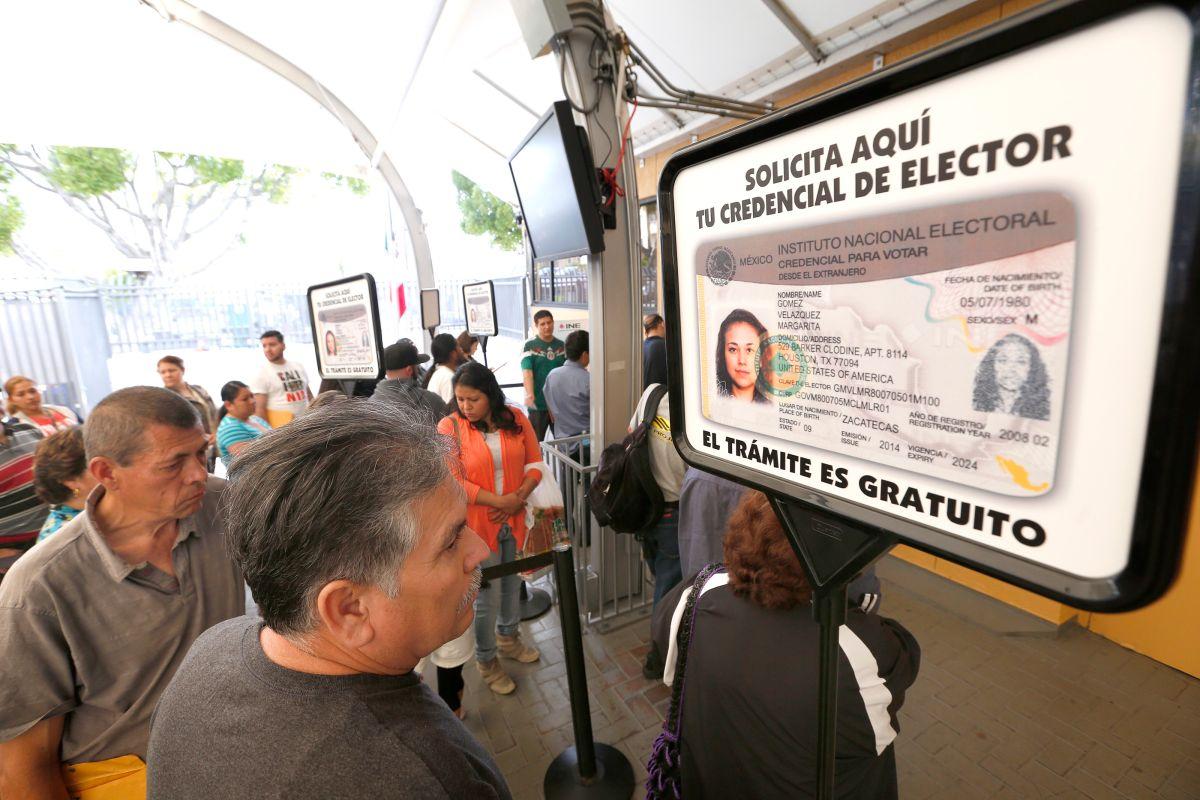 Llegan las credenciales para votar en México desde Estados Unidos
