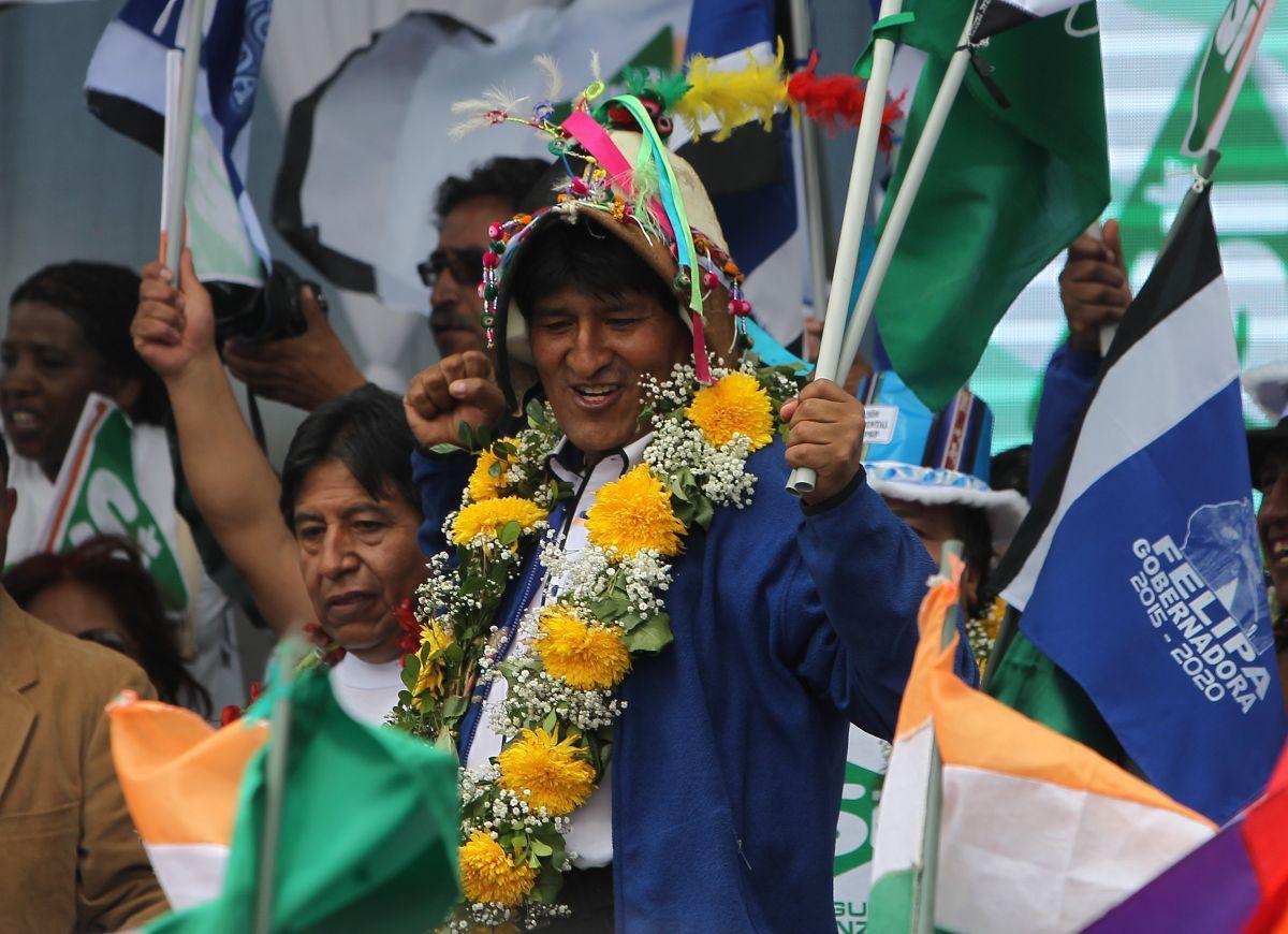 Bolivia: Evo Morales cierra campaña por reelección con fuertes disturbios