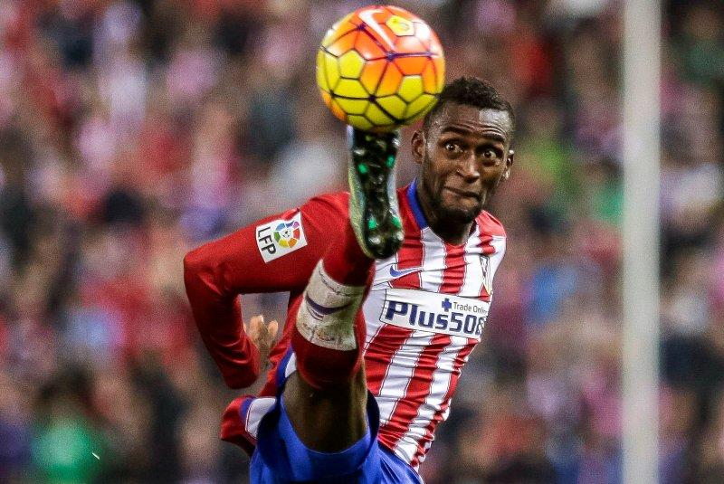 Simeone ya no le tuvo paciencia a Jackson Martínez en el Atlético de Madrid.