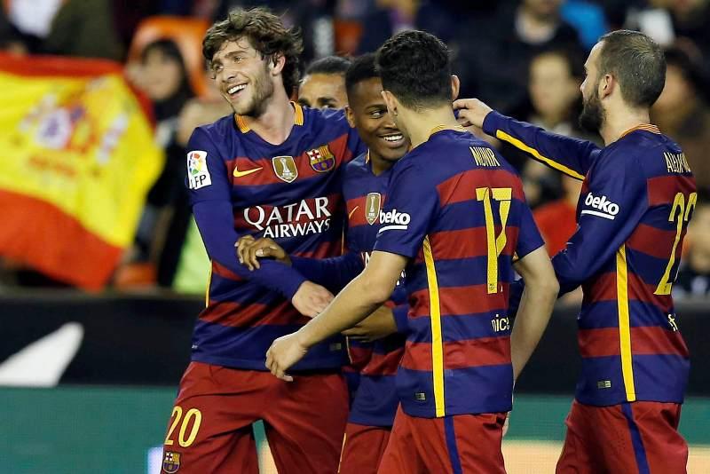 Barcelona es el primer finalista de la Copa del Rey