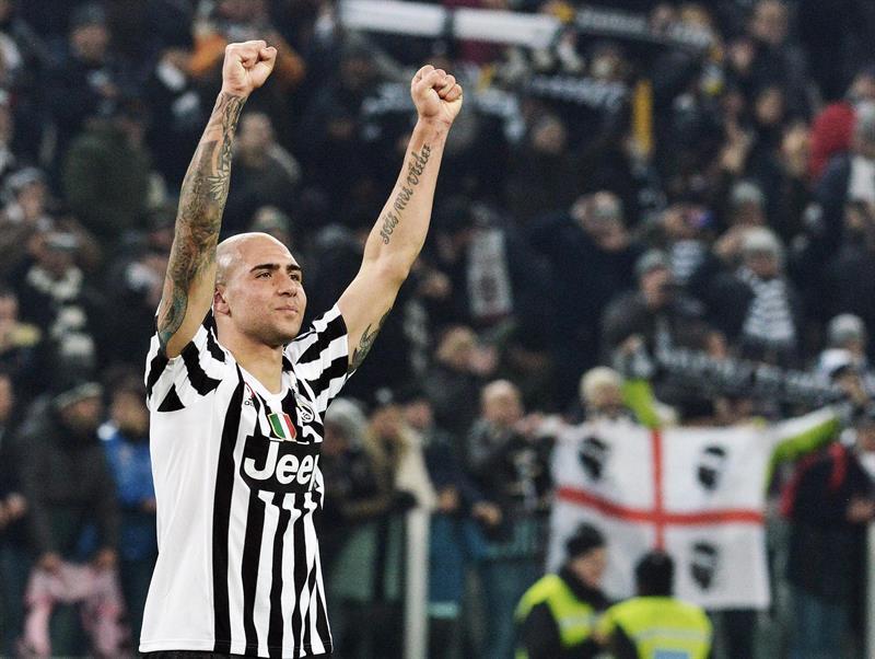 Un gol de Zaza le da el triunfo y el liderato al Juventus ante el Nápoli