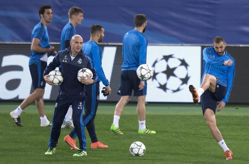 La Roma da la bienvenida a Zidane y su Madrid en Champions League