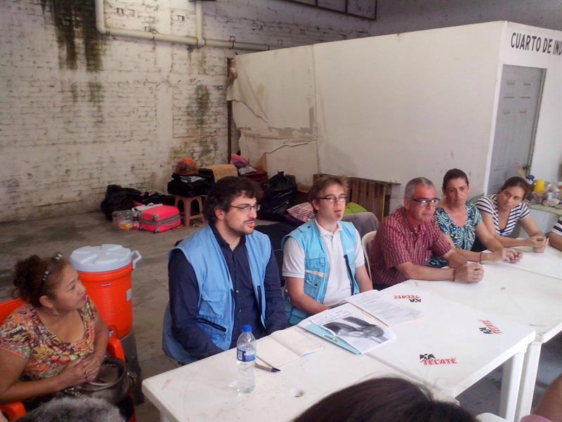 Delegados de ONU se reúne con padres de jóvenes desaparecidos en Veracruz