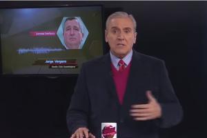 Jorge Vergara se hace de palabras con Carlos Albert durante transmisión en vivo
