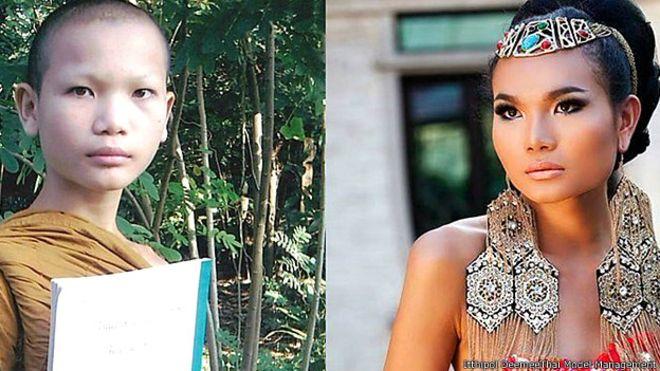 De monje budista a supermodelo: la espectacular transformación de Mimi Tao