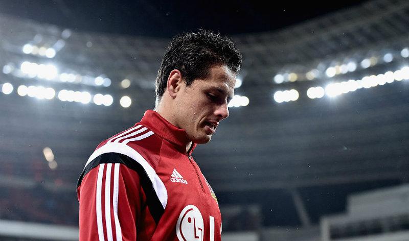 Javier Hernándea reclamó en redes sociales el gol en contra de su equipo.
